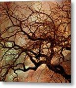 The Dream Oak Triptych Left Panel Metal Print