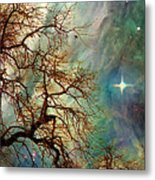 The Dream Oak Triptych Right Panel Metal Print