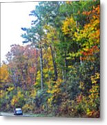 The Drive To See Grandfather Metal Print