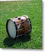 The Drum Metal Print