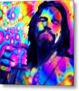 The Dude The Big Lebowski Jeff Bridges Metal Print