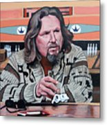 The Dude Metal Print by Tom Roderick
