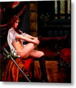 The Duelist Metal Print