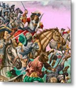 The Duke Of Monmouth At The Battle Of Sedgemoor Metal Print