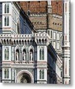 The Duomo Detail Metal Print