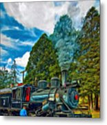 The Durbin Rocket - Paint Metal Print
