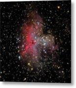 The Eagle Nebula And The Stellar Spire Metal Print