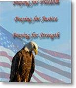 The Eagles Prayer Metal Print