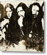 The Eagles Rustic Metal Print
