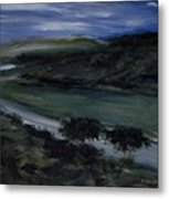 The Edge Of The River Metal Print