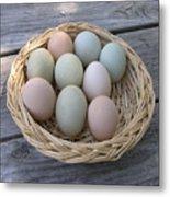 The Eggs Metal Print