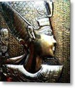 Queen Of Egypt Nefertiti Artwork Metal Print