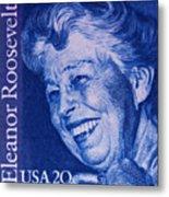 The Eleanor Roosevelt Stamp Metal Print