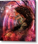 The Elements Wind Metal Print