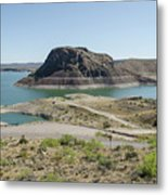 The Elephant At Elephant Butte Lake  Metal Print