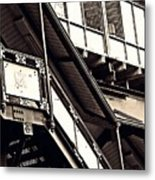 The Elevated Station At 125th Street 2 Metal Print