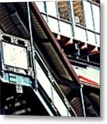 The Elevated Station At 125th Street Metal Print