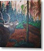 The Elk Metal Print
