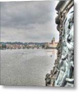 the embankment Praha Metal Print