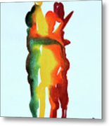 The Embrace 19 Metal Print