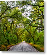 The Emerald Forrest Metal Print