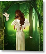 The Emotion Of The Angel Metal Print