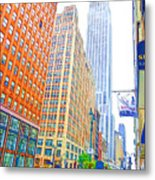 The Empire State Building 3 Metal Print