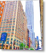 The Empire State Building 5 Metal Print