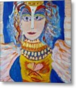 The Empressa  Of Hearts Angel Of Grace Beauty And Devotion Metal Print