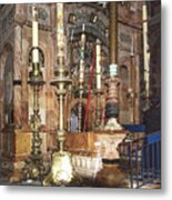 The Empty Tomb Of Christ Metal Print