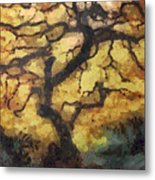The Empty Tree Metal Print