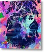The Enchanted Wood Metal Print