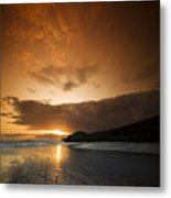 The End Of A Day Metal Print