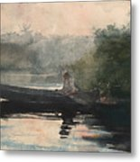 The End Of The Day Adirondacks Metal Print