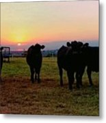 The End To A Long Day Metal Print