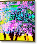 The Energy Field Of The Human Psyche Metal Print