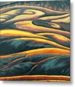 The Enigmatic Hills Metal Print