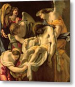 The Entombment Metal Print by Simon Vouet