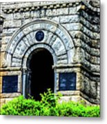 The Entrance To The Castle On Little Round Top Metal Print