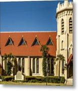The Episcopal Church Of Fernandina Beach Metal Print