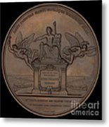 The Establishment Of The French Railway System: The Law Of 11 June 1842 [reverse] Metal Print