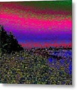 The Estuary Metal Print