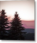 The Evening Before Metal Print