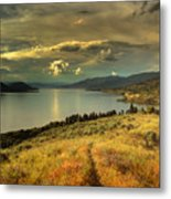 The Evening Calm Metal Print
