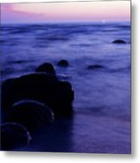 The Evening Metal Print