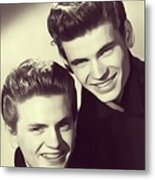 The Everly Brothers Metal Print