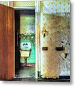 The Executive Washroom Metal Print