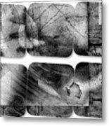 The Explained Square Metal Print