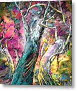 The Expulsion From Paradise Metal Print