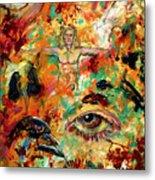 The Eye Of Art Metal Print